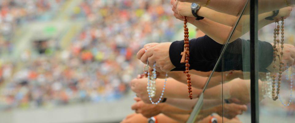 """Rekolekcje narodowe """"JEZUS na stadionie"""""""